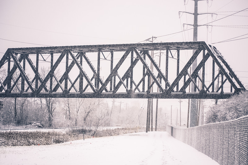 Winter Railroad Bridge - Winter 2012