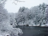 New Year's Day Snow: Mousam River, Kennebunk ME