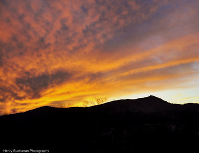 Blowing Rock NC - Sunset 12/26/09