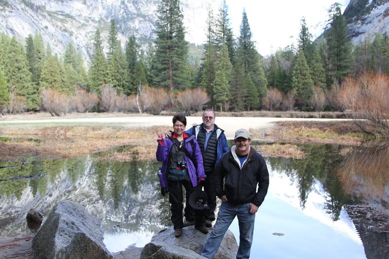 At Mirror Lake
