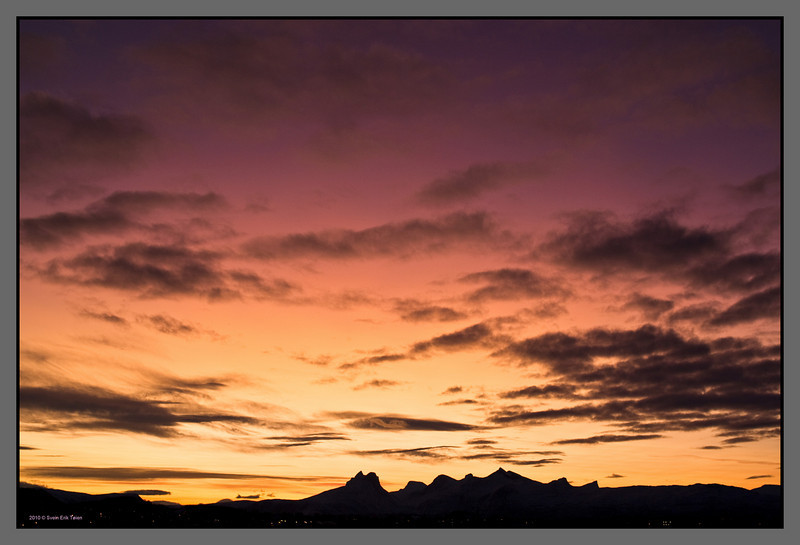Midwinter dawn<br /> Sky over Bodø