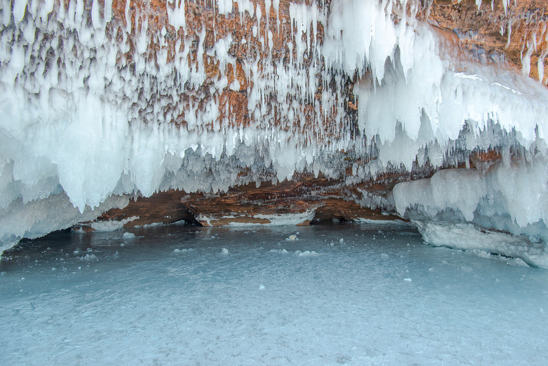 Apostle Islands Lakeshore ice caves #2