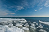 MNWN-11210: Ice at Brighton Bay on Lake Superior