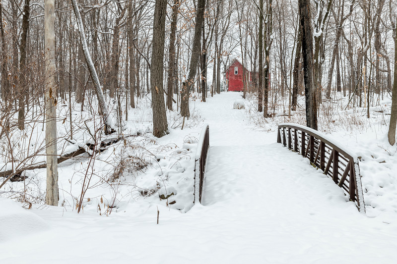 Trail to the Red Barn