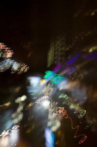 Swirling Street Lights