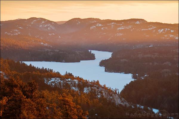 Willisville Ontario. The LaCloche Mountains