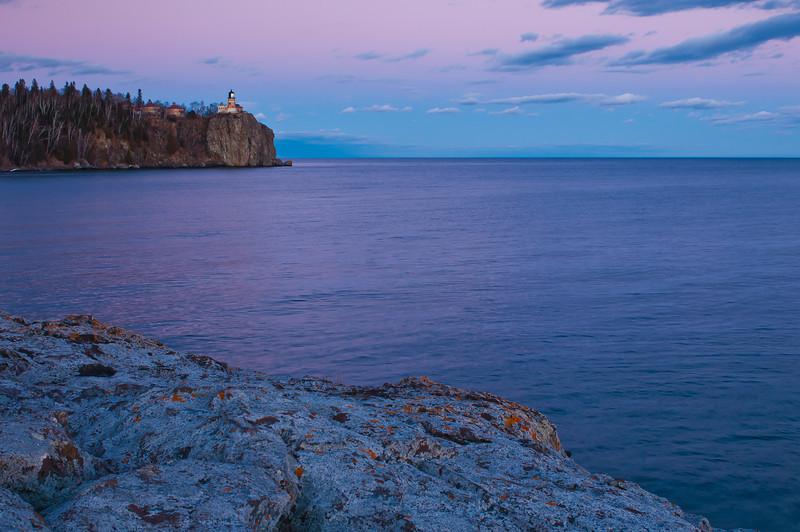 MNWN-12013: Twilight at Splitrock Lighthouse