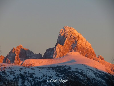 Mount Owen & Grand Teton, Wyoming