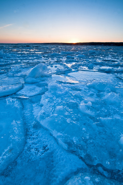 MNWN-11226: Ice from Stoney Point Road