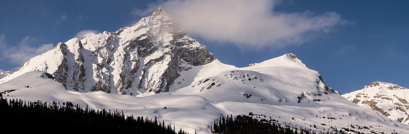 Hilda Peak, one of my favourite peaks visible from the Icefields Parkway