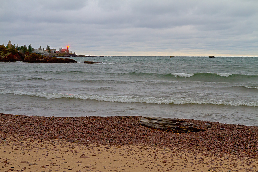 Eagle Harbor on a mid November day.