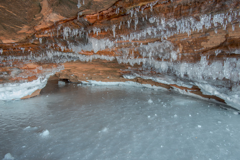 Apostle Islands Lakeshore ice caves #6