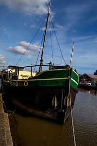 Sunny Winter Day at Battlesbridge-