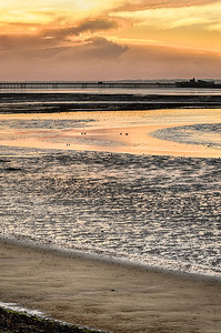 Sunrise over the foreshore