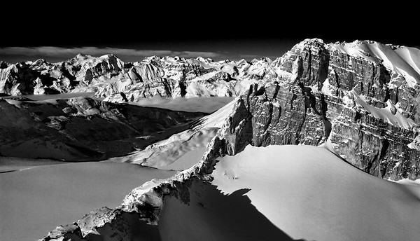 The ridge to Mt.Habel - taken from the summit of Mt. Rhondda