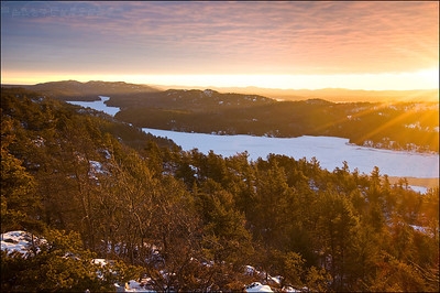 Willisville, Ontario. The La Cloche Mountains