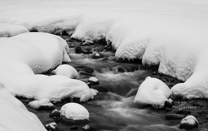 white river b&w_