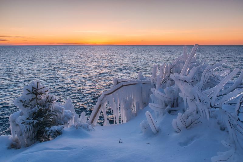 Lake Superior twilight