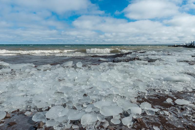 Ice Rocks of Lake Superior