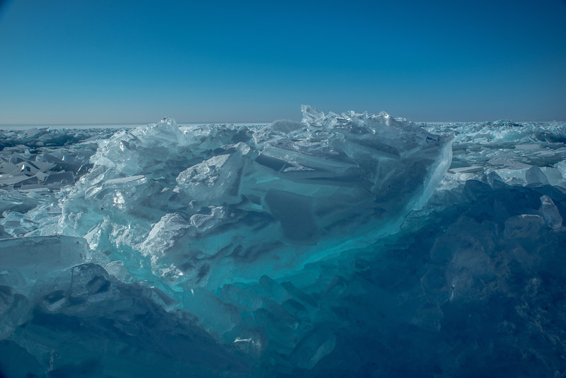 Blue Ice boulder