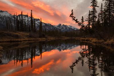 "Sunrise at ""The Glory Hole"""