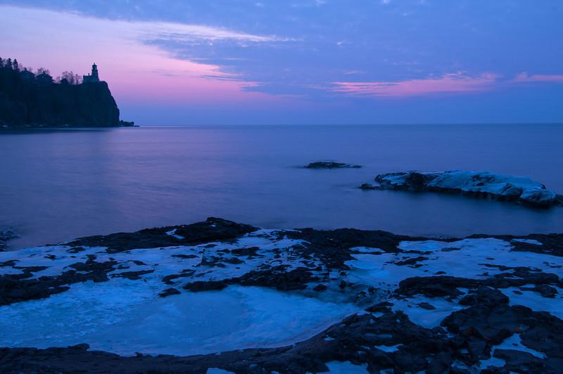 MNWN-12151: Lighthouse twilight