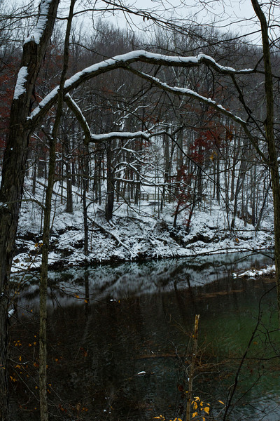 The Reflectory<br /> <br /> White Park photos on a snowy December day, 2012.
