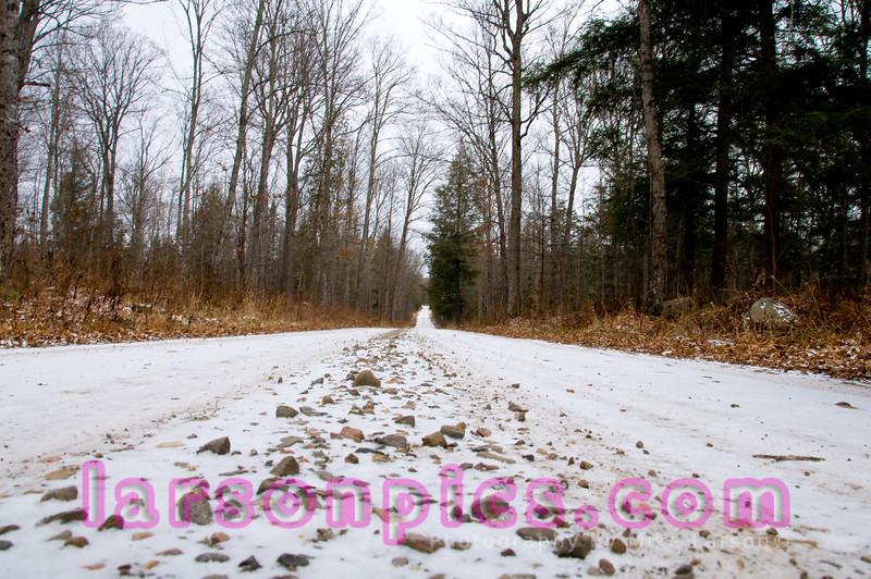 Gravel Road Perspective