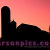 Wisconsin Farm Silhouette