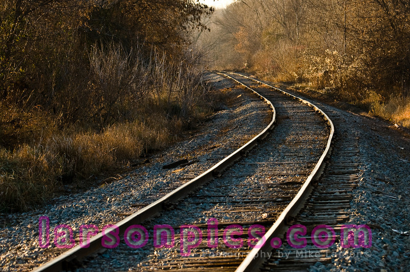 Rural Train Tracks - Wisconsin