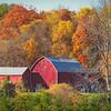 Barn in Autumn Color