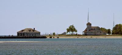 Abanonded island village