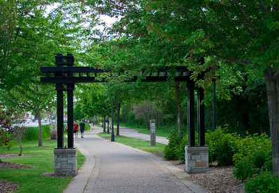 Fox river walking path