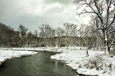 River in Brookfield, WI