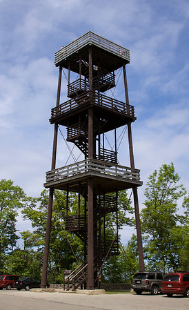 Fire and storm watch tower