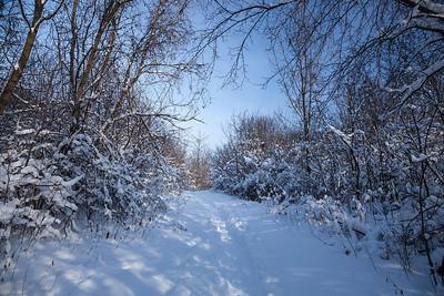 Milwaukee, Wisconsin A winter wonderland.