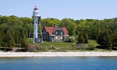 Lighthouse and keeper's home