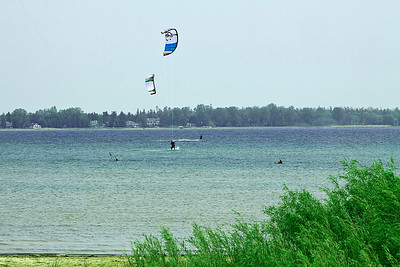 Parasailing the great lakes
