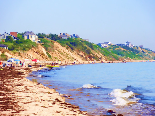Summer afternoon on the beach - Truro
