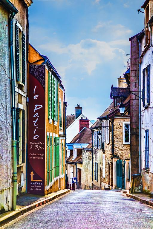 Village road - France
