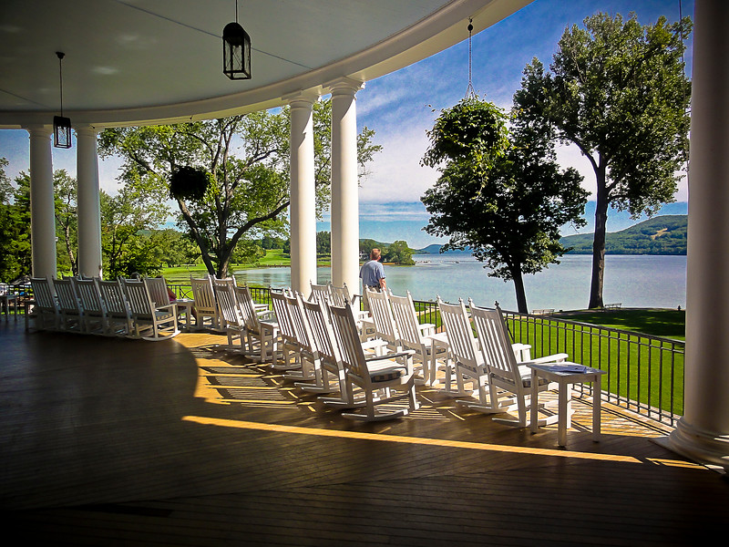 Late afternoon on the porch - Cooperstown