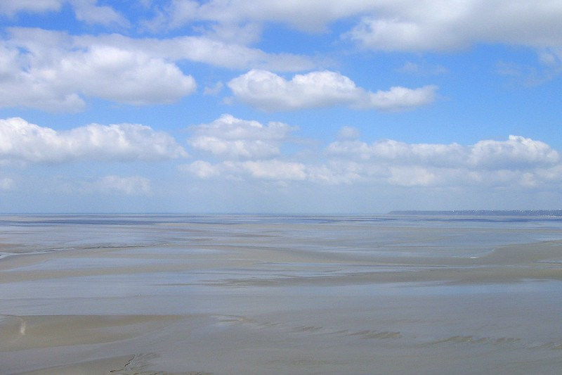 Low Tide at the Mont Sainte-Michel