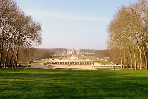 Chateau in France : Vaux le Vicomte