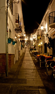 Narrow Street in Mijas