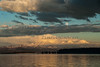 Moonrise Yellowstone Lake