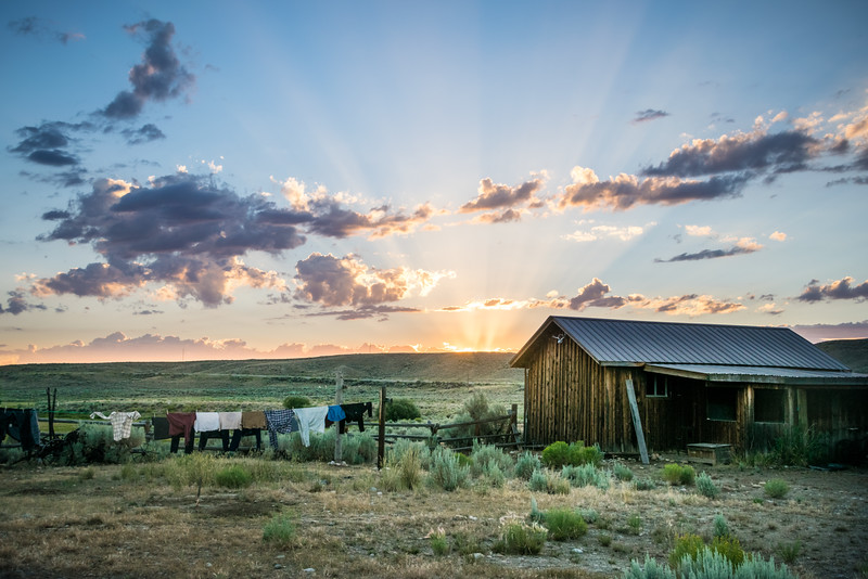 Wyoming Sunset