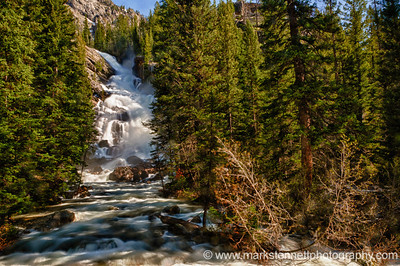Hidden Falls Near Jenny Lake, Grand Teton National Park