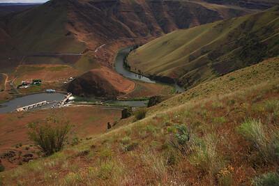 Yakima River Dam