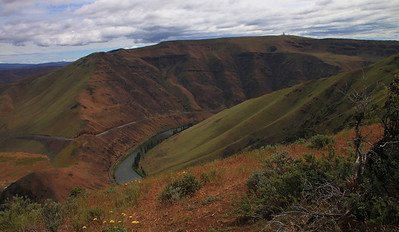 Yakima Canyon and River