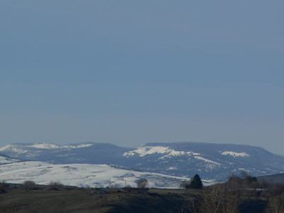 Foothills of the Cascades from Yakima, WA.